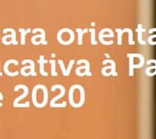 """Relatório """"Um roteiro para orientar a resposta educativa à Pandemia da COVID-19 de 2020"""""""