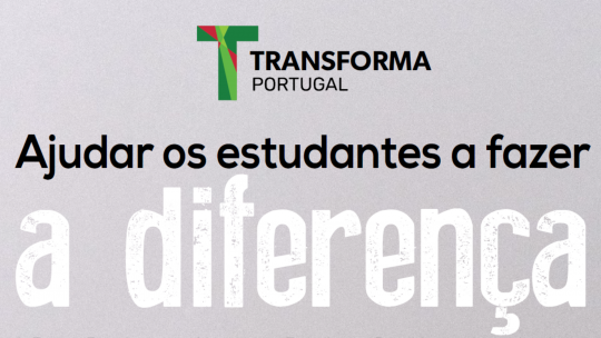 Transforma PT já tem em curso 46 projetos solidários, envolvendo cerca de 250 estudantes voluntários