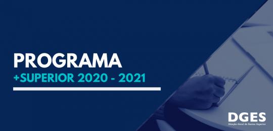 Programa +Superior 2020 - 2021