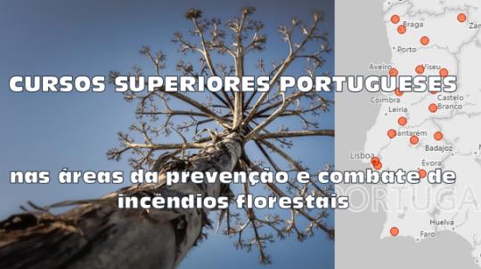 Oferta Formativa nas áreas ligadas à prevenção e combate de incêndios florestais