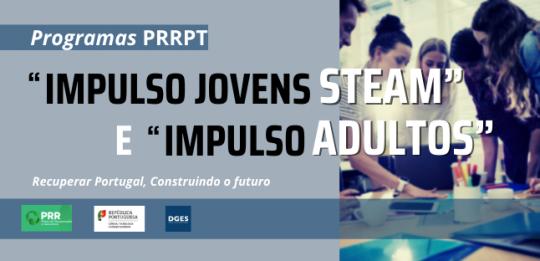 Programa Impulso Jovens STEAM e Impulso Adultos apresentados