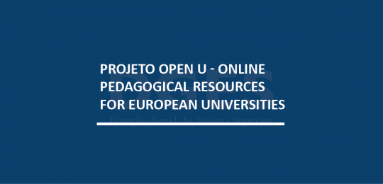 Projeto Open U - Online Pedagogical Resources for European Universities